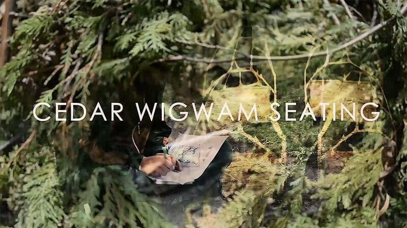 Cedar Wigwam Seating